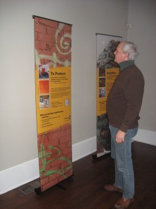 Traveling exhibit, Endangered Heritage