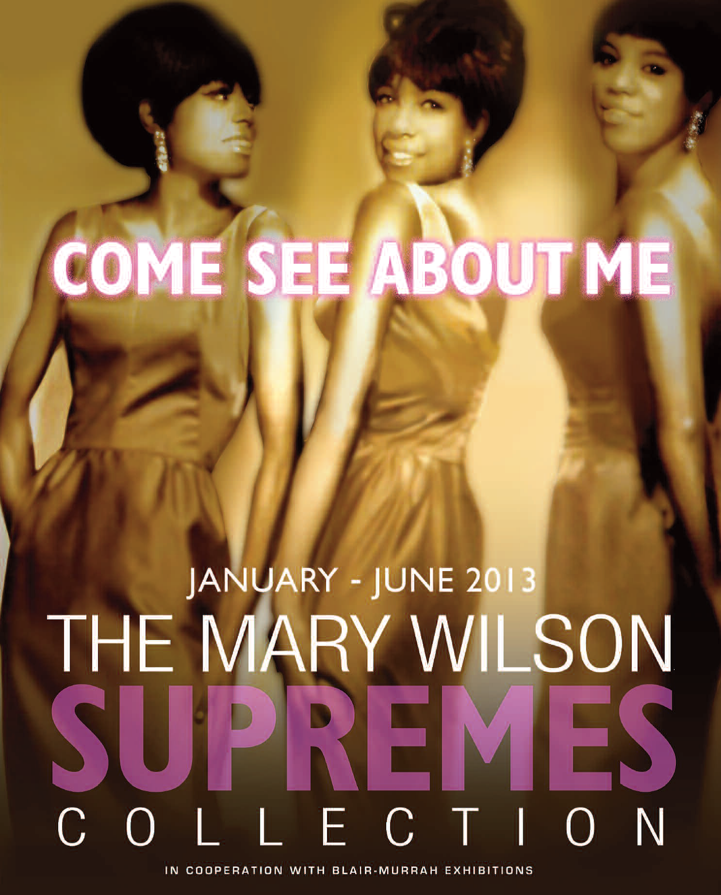 AAMP Exhibit about The Supremes