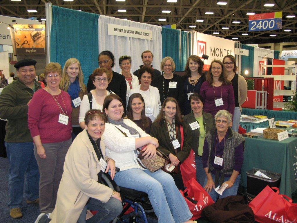 IMLS Director Hildreth with Project ALFA Fellows and Staff at ALA Midwinter in Dalls