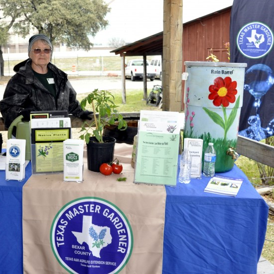 Bexar County Master Gardeners offer visitors tips for home gardening.