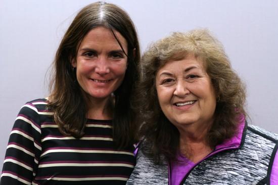 Heather Stephenson and Jeanne White