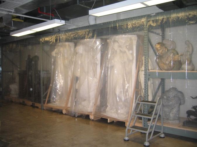 Same storage area after IMLS grant