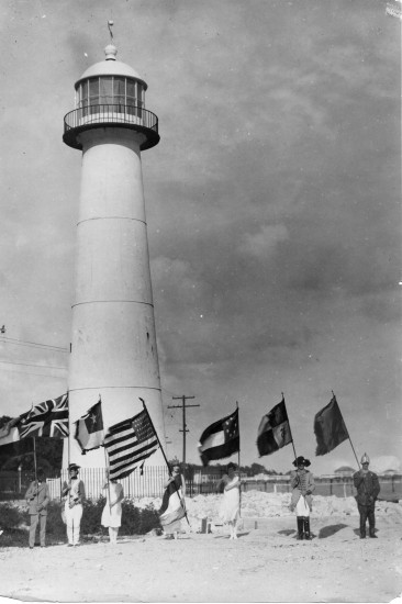 In March 1939, Coast cities commemorated the 240th anniversary of the Landing of D'Iberville.