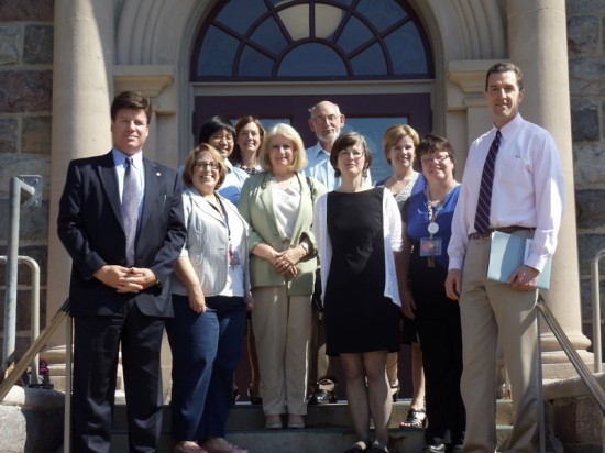 Livingston County economic and workforce development partners, Library of Michigan and IMLS visit Howell Carnegie District Library