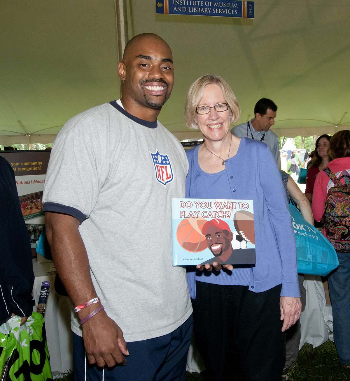 Chris Draft with Susan Hildreth, IMLS Director
