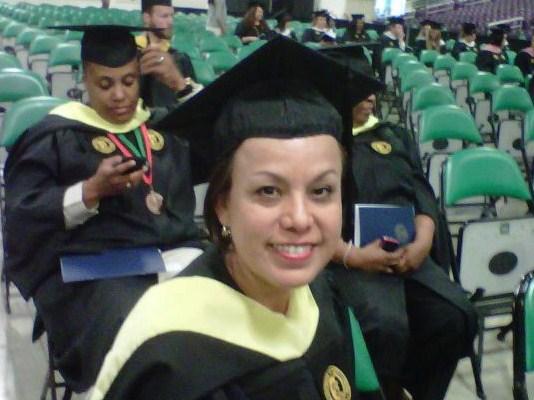 Martha Parker at Graduation