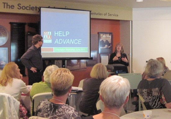 HELP Advance Workshop in Kansas City, 2011.