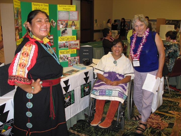 Tamara Sandia, Maureen Wacondo and Lotsee Patterson