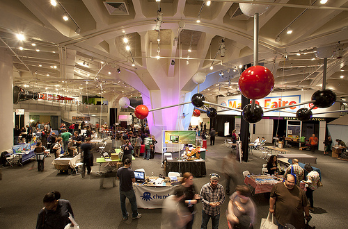 photo of Maker Faire at the New York Hall of Science