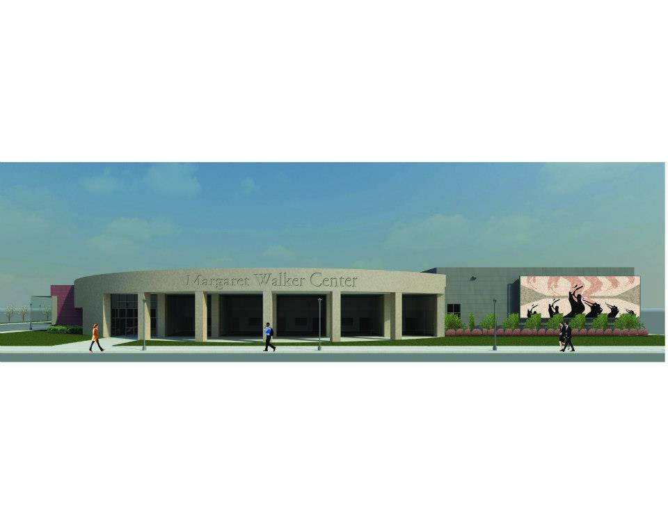 Rendering of the MWC archival facility