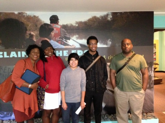 History Keepers interns and supervisors on the first field trip.