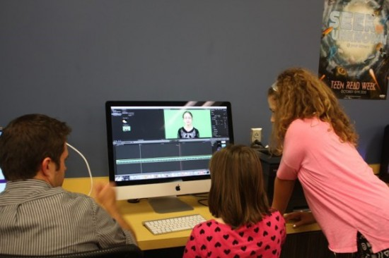 Working with a mentor, students learned how to edit recordings of the forecasts using Final Cut Pro and Camtasia.