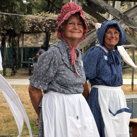 ITC docents present interpretations of historic agriculture in Texas.