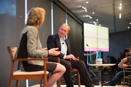 Susan Crawford interviewing Tim Berners-Lee