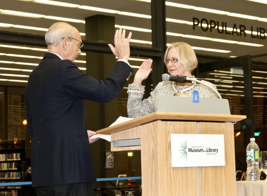 February 24, 2011: Official swearing in ceremony with Justice Stephen G. Breyer