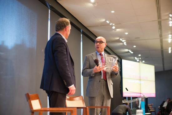 Tim Berners-Lee and Darren Walker