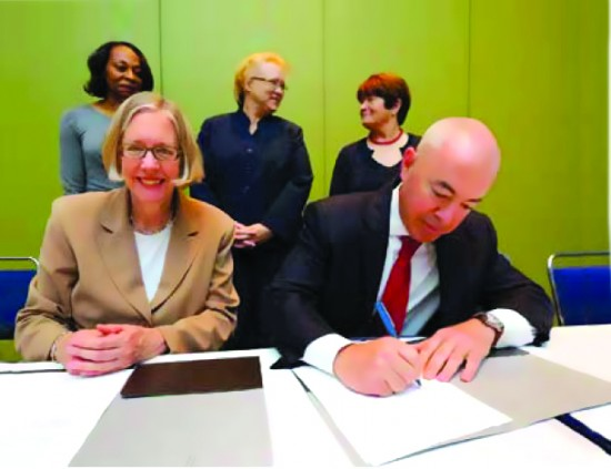 June 30, 2013: Signing of MOU with U.S. Citizenship and Immigration Services