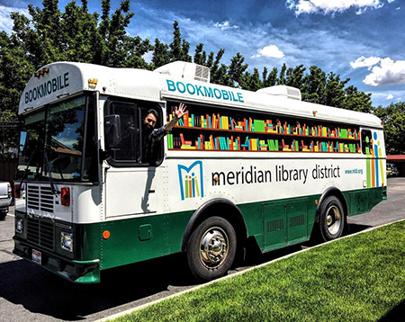 Meridian Library District Bookmobile