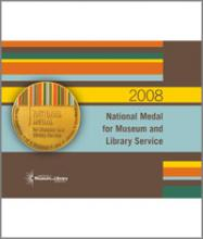 Cover of 2008 National Medal for Museum and Library Service brochure