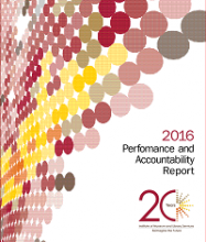 Cover of 2016 Performance and Accountability Report