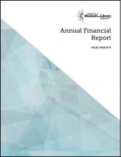 Cover of 2019 Annual Financial Report