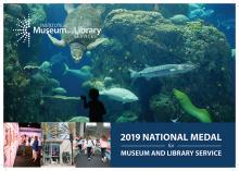 Cover of 2019 National Medal for Museum and Library Service Brochure