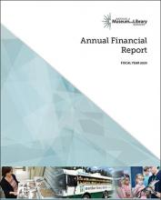 Cover of  2020 Annual Financial Report