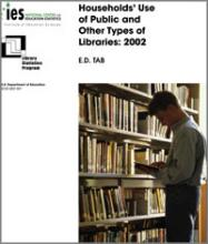 Cover of Households Use of Public and Other Types of Libraries: 2002