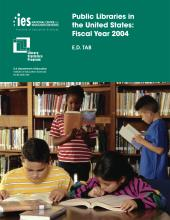 Cover of E.D. TAB: Public Libraries in the United States: Fiscal Year 2004