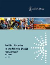 Cover of Public Libraries in the United States Survey: Fiscal Year 2017, Volume 1
