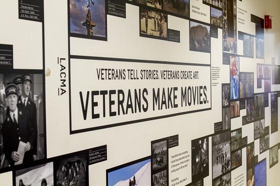 Veterans Makes Movies Wall