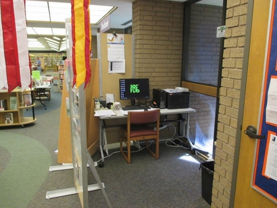 More private station in the Veteran Resource Center