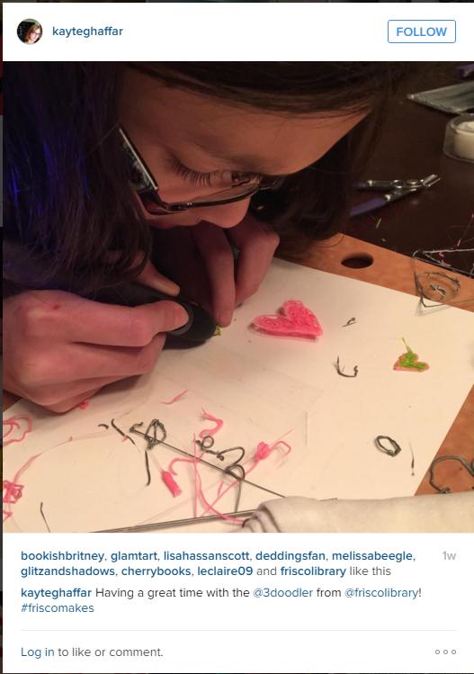 3Doodler Instagram Hearts