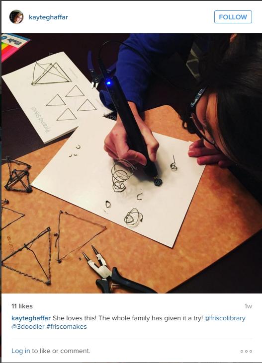3Doodler Instagram Practice