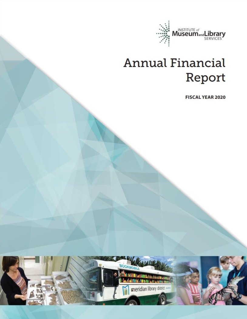 IMLS FY 2020 Annual Performance Report