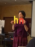Saroj Ghoting teaches early literacy strategies