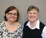 Beth Odle (L) and Carol Kaplan (R)
