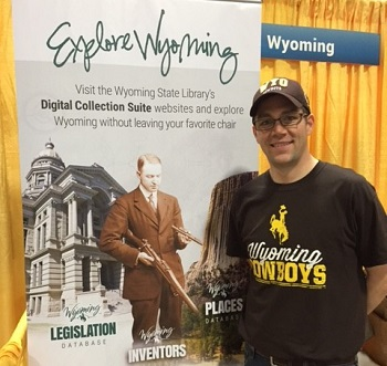 Jamie Markus, Wyoming State Librarian at the National Book Festival