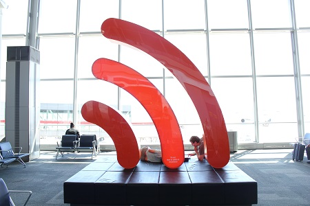 Image of a Wi-Fi symbol