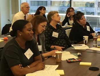 Participants in conversation