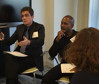 Museum representatives participate in discussion