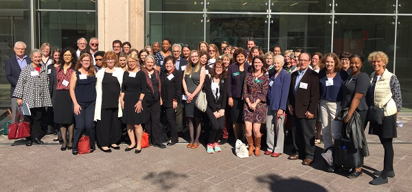 Participants of the 2016 convening of Museums Studies programs.