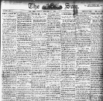 Clip of The Sun, (New York) December 20, 1908