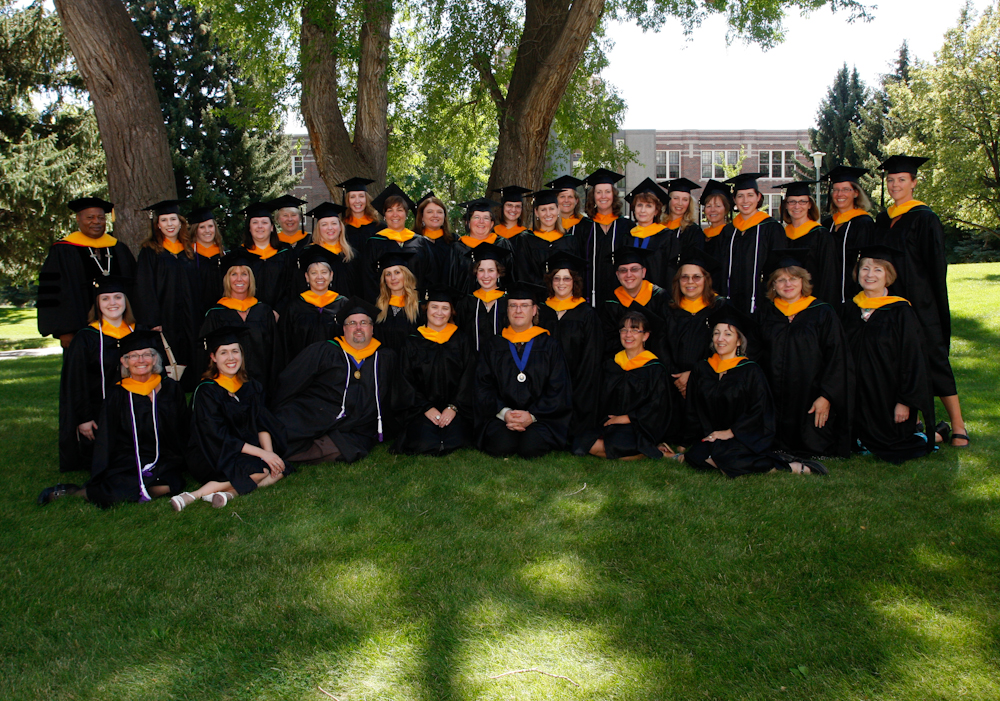 The first SWIM graduating class