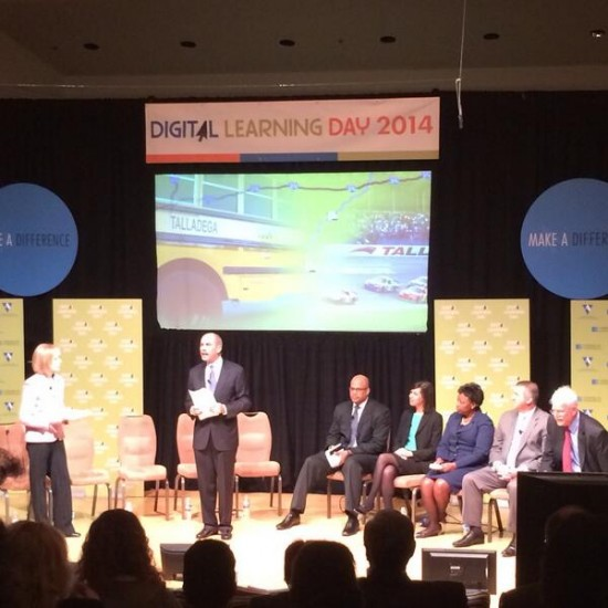Panelists at the Digital Learning Day