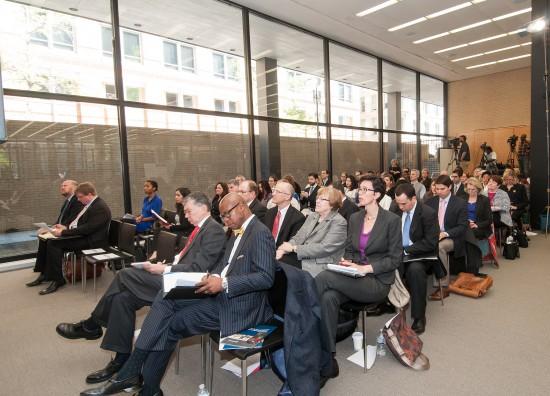 Audience at the IMLS broadband hearing