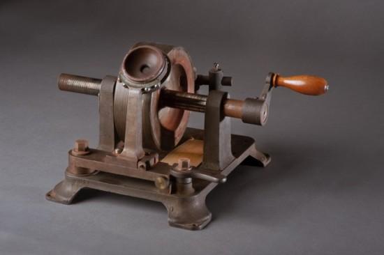 Photo of a graphophone