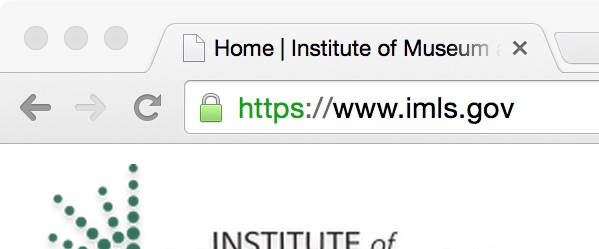 image of https:// url in browser