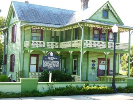 Historic L. B. Brown House Museum  (c. 1892) 470 L. B. Brown Avenue, Bartow, Fl