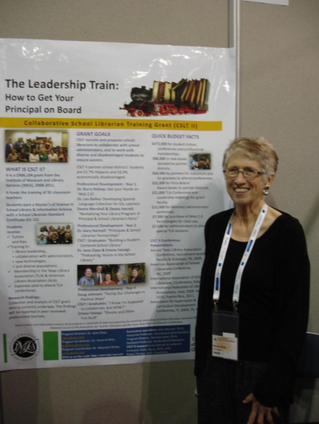 Dr. Maureen White, Associate Professor of Literacy, Language and Library Science, at the University of Houston Clear Lake